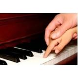 preço de aula de piano para crianças Água Branca
