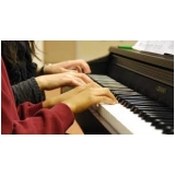 preço de aula de piano particular Jardim Paulistano