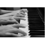 preço de aula de piano popular Jardim Paulistano