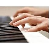primeira aula de piano Santa Efigênia