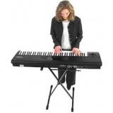 primeira aula de teclado preços Parque Anhembi