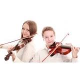 primeira aula de violino para fazer Bela Vista
