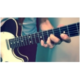 primeiras aulas de guitarra Alto de Pinheiros