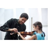 primeiras aulas de violino Água Branca