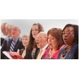 professor de aula de canto gospel Centro