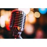 professor de aula de canto iniciante Pompéia