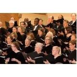 professor de canto coral Chora Menino