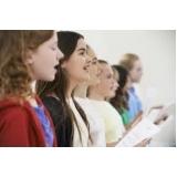 professor de aula de canto