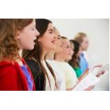 professor de canto para coral