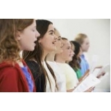 professores de aulas de canto Santa Efigênia