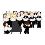 professores de canto de coral Santa Cecília