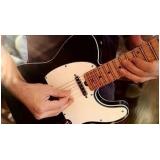 quanto custa aula de guitarra com prática Vila Buarque