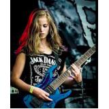 quanto custa aula de guitarra heavy metal Jockey Clube