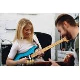quanto custa primeira aula de guitarra Vila Sônia
