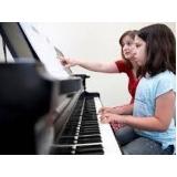 valor da aula de piano coletiva Sumaré