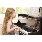 valor da aula de piano para crianças Vila Mariana