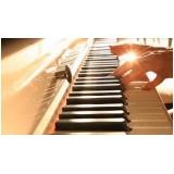 valor da aula de piano para iniciantes Aclimação